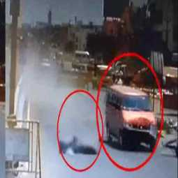 Brutal accident in Chennai... . Police looking for 18-year-old boy based on CCTV footage !!