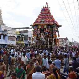 nellai district sankarankovil temple festival ther peoples police collector