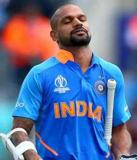 shikar dhawan ruled out of worldcup series and rishab pant may replace in his position