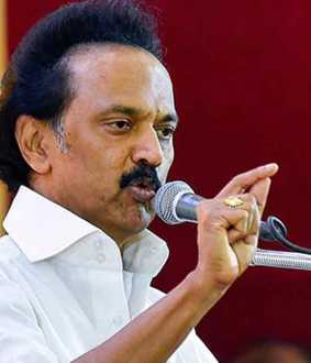 Minister CV Shanmugam! Should resign! - MK Stalin