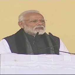 modi slams congress for asking proof of balkot revenge attack