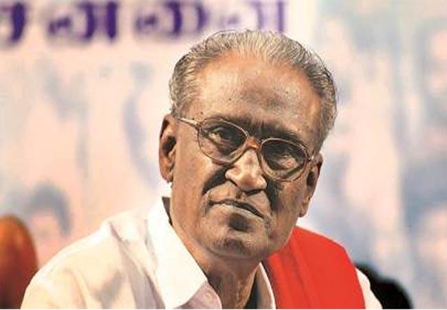 cpi party senior leader d.pandiyan admitted at hospital