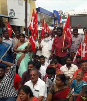 CMP supports for farmers in dindigul district bala barathi mla