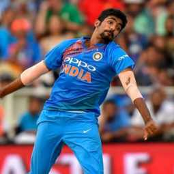 india cricket player jasprit bumrah bowling trails in grand mothar viral video