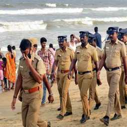 More than 20,000 police custody in Chennai