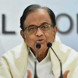 FORMER UNION FINANCE MINISTER P CHIDAMBARAM TWEET