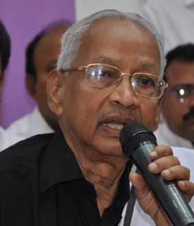 Editor K. Veeramani reports to make Cheyyarai a separate district.