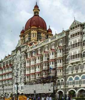 taj hotel under high security alert