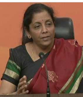 UNION FINANCE MINISTER NIRMALA SITHARAMAN CALLED PREE MEET