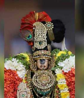 Ekadasi 4th day festival at Srirangam temple ..