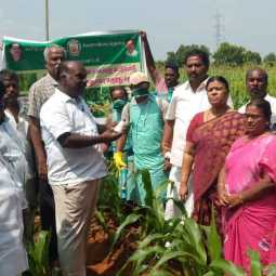 inspection by admk MLA