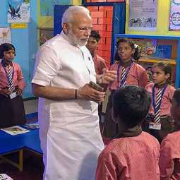 PM NARENDRA MODIDISCUSSION WITH STUDENTS EXAMS APPEAR RELATED MOTIVATION SPEECH