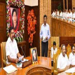 tamilnadu govt cabinet meeting at chennai