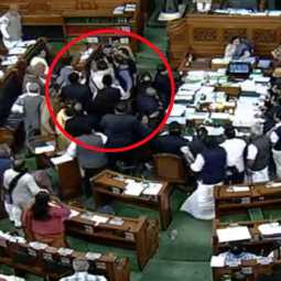 manik thakur and harshavardhan issue in loksabha
