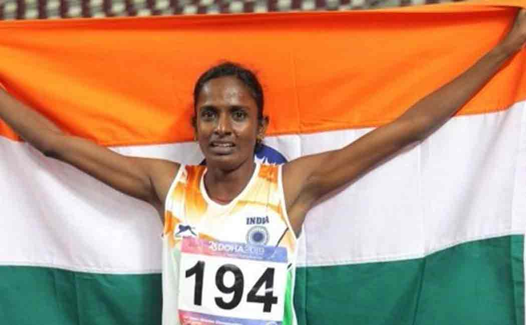 indian athlete federation issues inetrim ban on gomathi for failing dope test