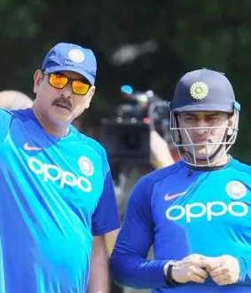 ravi shastri clears about dhonis placement controversy in worldcup semifinal