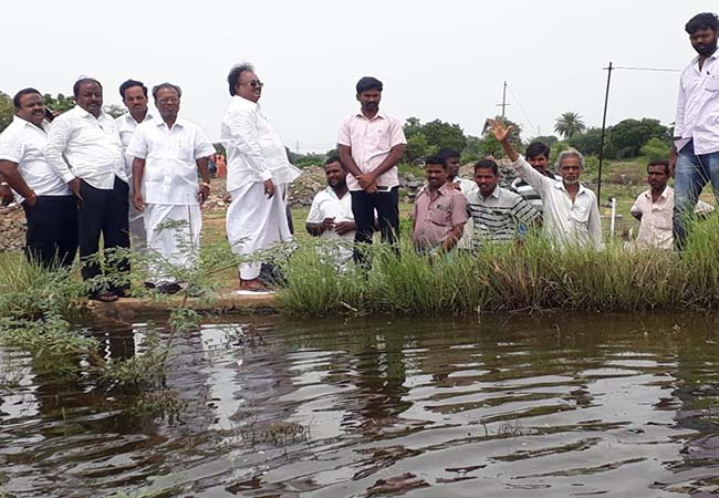 """People's safety is important"" thiruvannamalai appeal to MLA party executives who visited the lakes!"