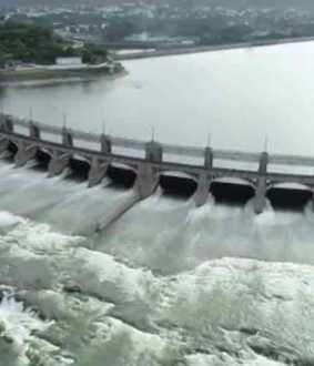 Mettur dam water level rises to 97.27 feet