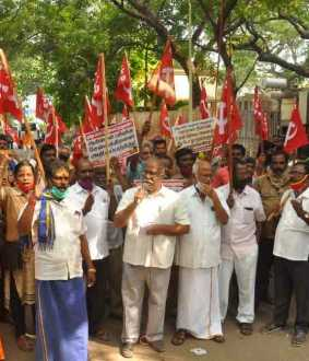 CITU in Chennai seeks repeal of labor law amendments