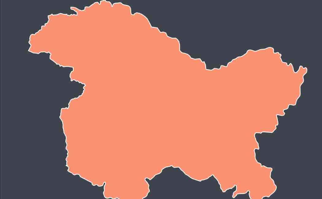 jammu kashmir is going to be two union territories from tomorrow