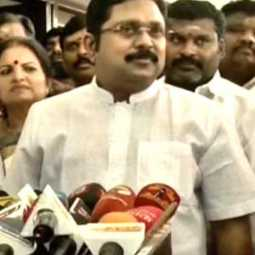 ttv dhinakaran interview