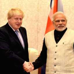 modi wishes borris johnson