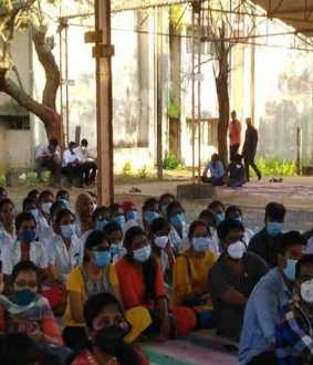 Raja Muthiah Medical College students' struggle begins again!