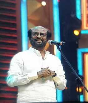 darbar film audio launch actor rajini kanth speech