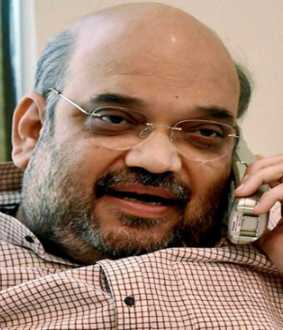 amit shah phone call to kcr
