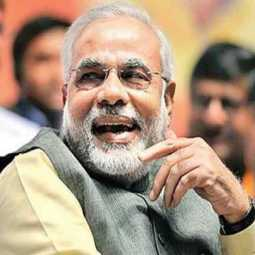 Modi demands for right to govern