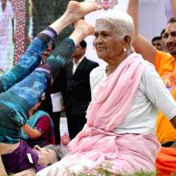 yoga enthusiast nanammal passed away