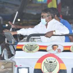 ELECTION CAMPAIGN DMDK PARTY VIJAYAKANTH