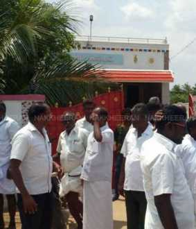 NELLAI DMK PARTY ELECTON STOP