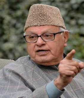 kashmir nationalist party leader farooq abdullah called press meet union government decision jammu against