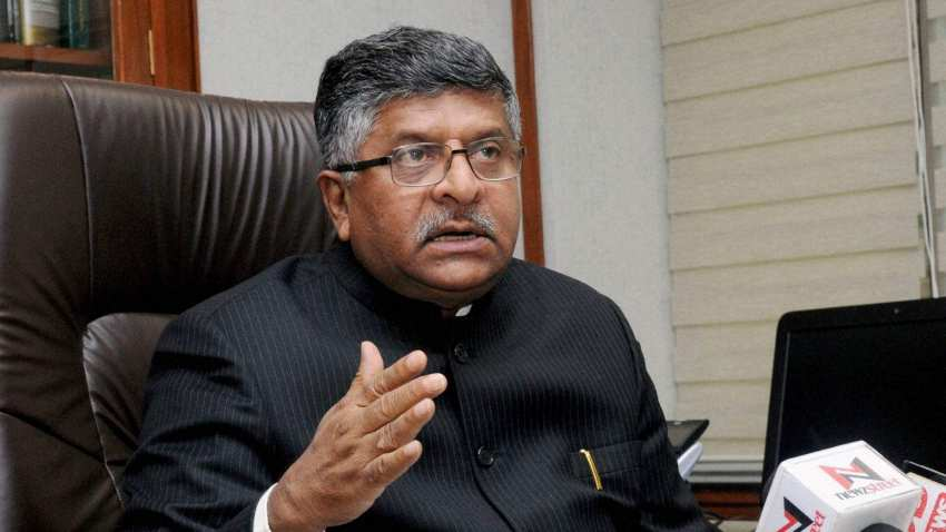 TODAY LOK SABHA MINITRY OF LAW AND JUSTICE RAVI SHAKAR PRASAD SAID AADHAR CARD GET IN PEOLPLES DETAILS