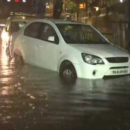 maharashtra and madhya pradesh states fully affected and heavy rainfalls two states fully block