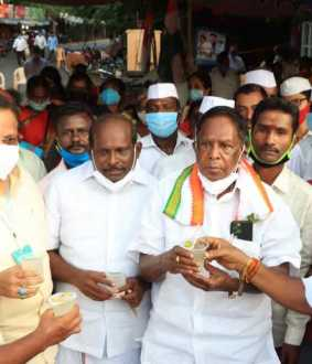 pondycherry CM Narayanasamy commented about PM Modi's government