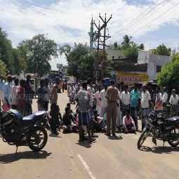 thanjavur district Thousand Years Old Chola Trench Strike the peoples