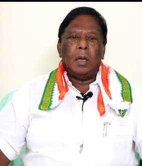 PUDUCHERRY CM NARAYANASAMY PRESS MEET
