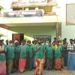 cuddalore district sanitary workers salary issues