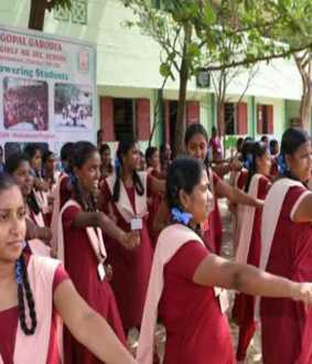 tamilnadu govt schools students 4560 education related trip in andhra pradesh and karnataka