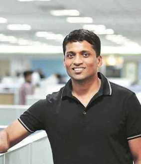 byjus founder raveendran becomes india's new billionaire