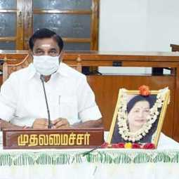 tamilnadu cm palanisamy visit vellore district discussion coronavirus prevention