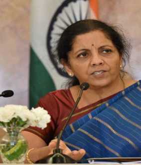 union finance minister nirmala sitharaman cancel the today press meet