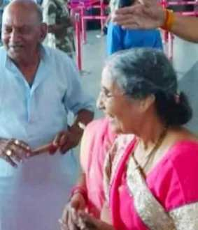 mamta banerjee gifts yasodhaben patel on modi birthday