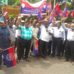 Demonstrated against collector who blamed inspector