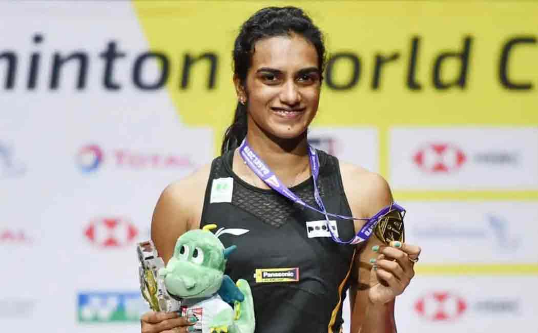 sindhu won world batminton championship