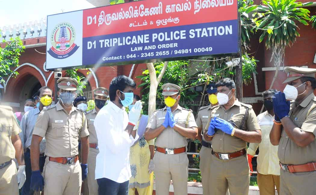 Actor Soori thanked the police