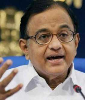 chihdambaram suggests modi to speak about economy in delhi election campaign
