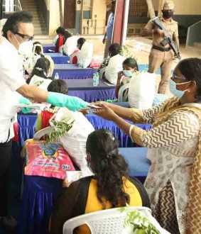 CORONAVIRUS LOCKDOWN RELIEF FUND DMK MK STALIN